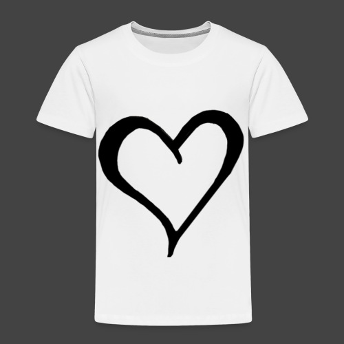 Heart Sketch - Toddler Premium T-Shirt