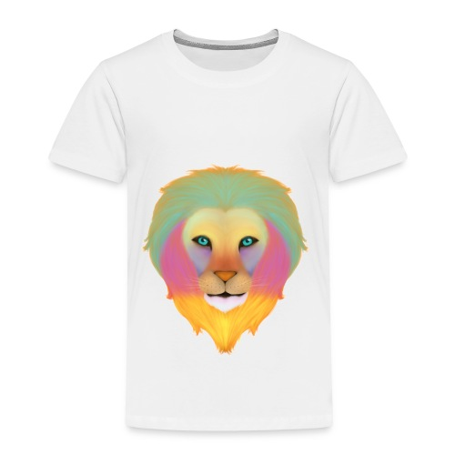 Rainbow lion - Toddler Premium T-Shirt