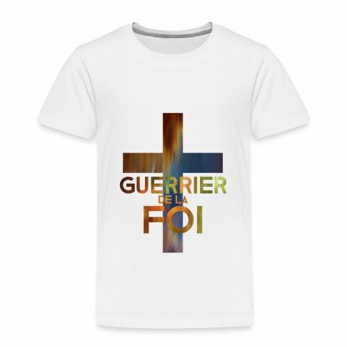 WARRIOR OF FAITH - Toddler Premium T-Shirt