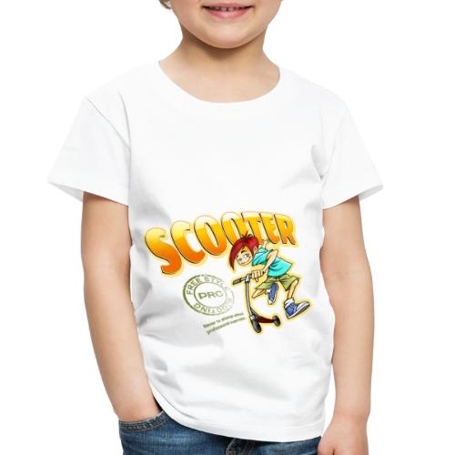 Scooter Boy New Design - Toddler Premium T-Shirt
