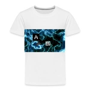 Andrew _Gaming/Vlogs Button - Toddler Premium T-Shirt