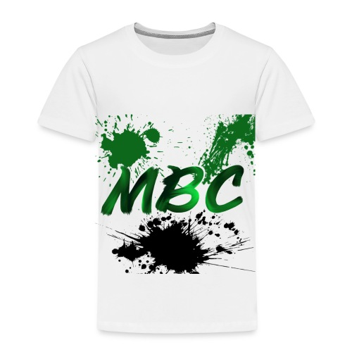 MinerBroConnor With Splatter - Toddler Premium T-Shirt