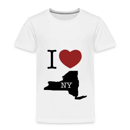 I Love NY T-Shirt - Toddler Premium T-Shirt