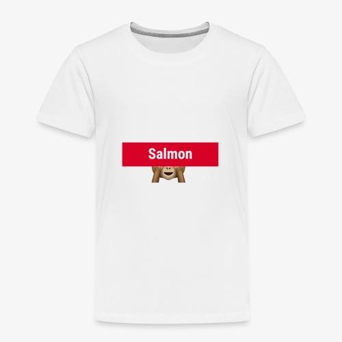 Salmon Monkey - Toddler Premium T-Shirt