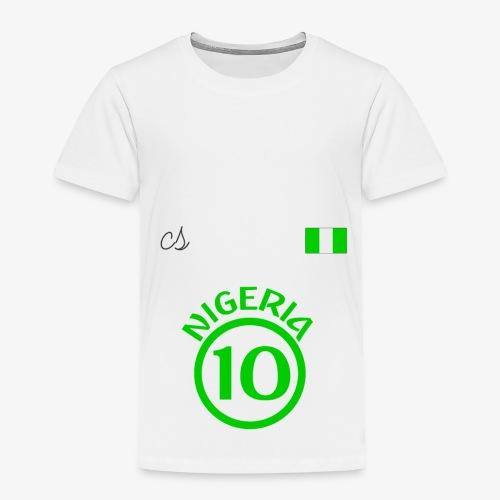 Nigerian Soccer Fan T-Shirt - Toddler Premium T-Shirt