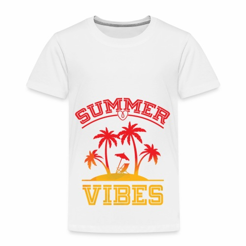 Summer Vibes - Toddler Premium T-Shirt