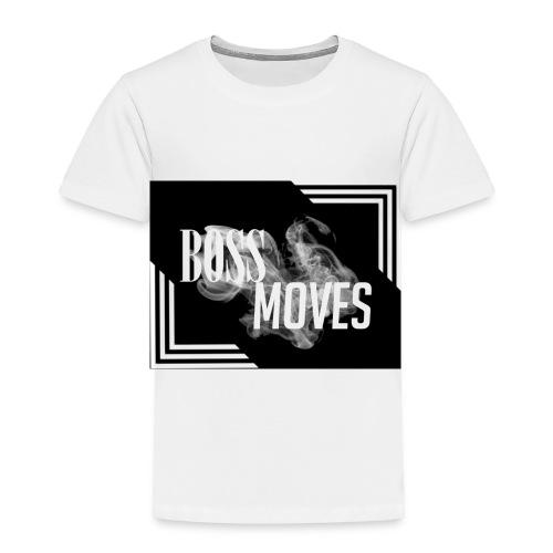 bossmoveslogo - Toddler Premium T-Shirt