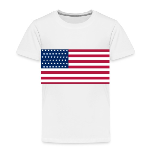 usa flag - Toddler Premium T-Shirt