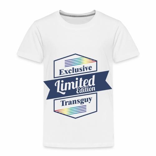 Limited Edition Transguy - Toddler Premium T-Shirt