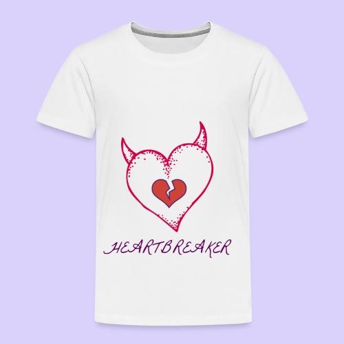 Heart Breaker - Toddler Premium T-Shirt