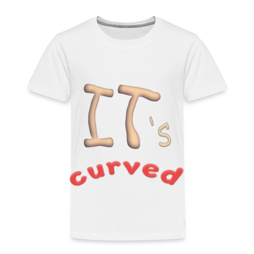 Curved - Toddler Premium T-Shirt