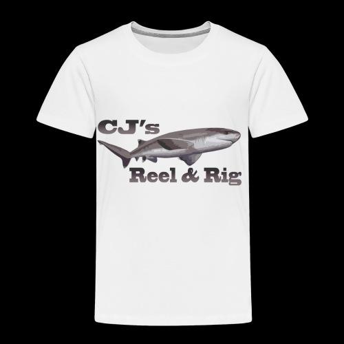 CJs Reel and Rig - Toddler Premium T-Shirt