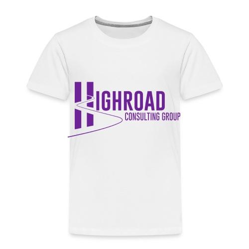 Highroad Logo Overlay Purple - Toddler Premium T-Shirt