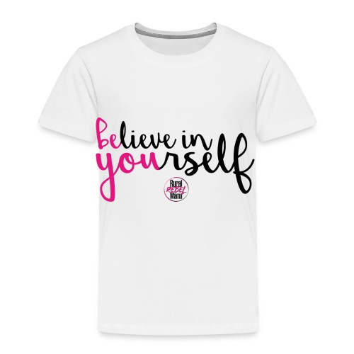 BE YOU shirt design w logo - Toddler Premium T-Shirt