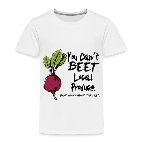 You can't beet copy - Toddler Premium T-Shirt