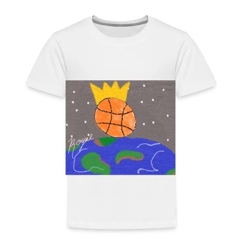 royal baller in space - Toddler Premium T-Shirt
