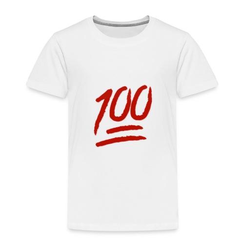 100 flawless - Toddler Premium T-Shirt