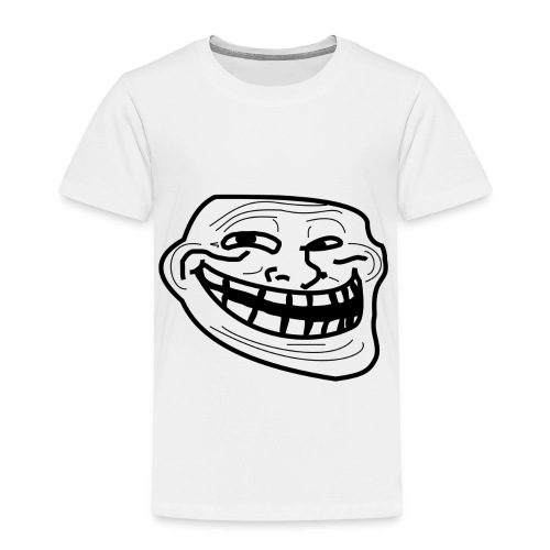Troll Face short sleeved shirt - Toddler Premium T-Shirt