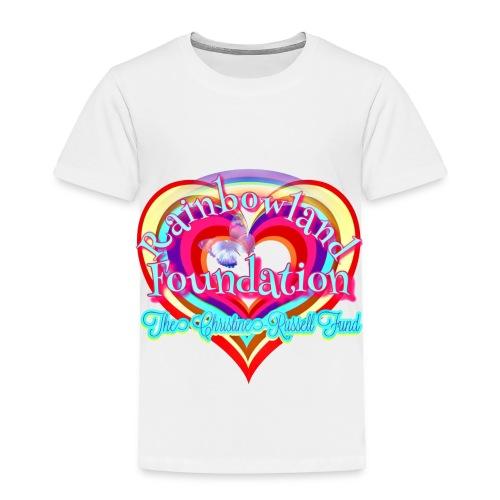 Rainbowland Foundation logo - Toddler Premium T-Shirt