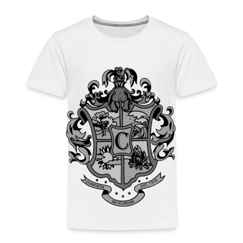 Coat of Arms with Bunny - Toddler Premium T-Shirt