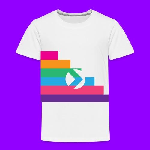 Yibizen Lined Logo Design - Toddler Premium T-Shirt