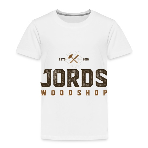 New Age JordsWoodShop logo - Toddler Premium T-Shirt