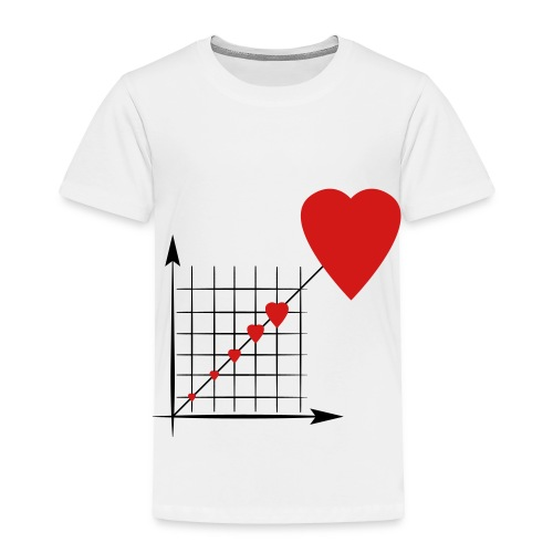 Love Diagram - Toddler Premium T-Shirt