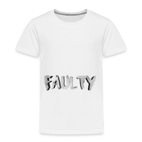 Faulty Spaghetti Merch - Toddler Premium T-Shirt