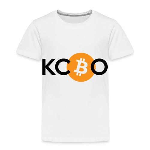 kcbo logo light - Toddler Premium T-Shirt