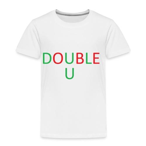 DOUBLE U MERCH - Toddler Premium T-Shirt