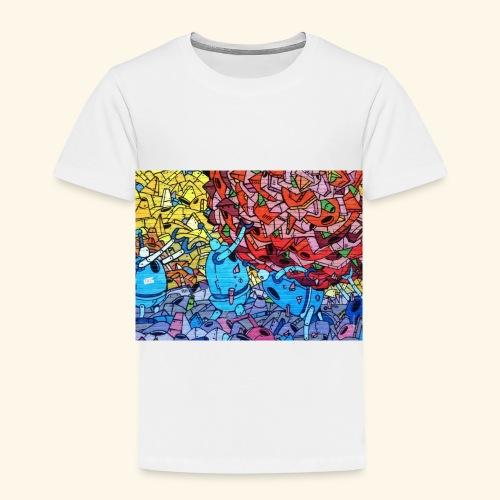Graffiti Decal - Toddler Premium T-Shirt