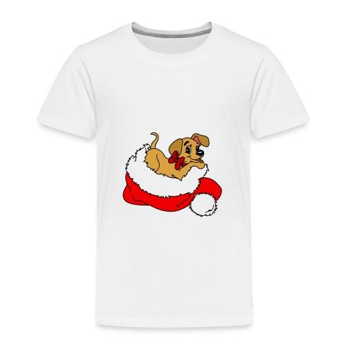 dog_xmas_color - Toddler Premium T-Shirt