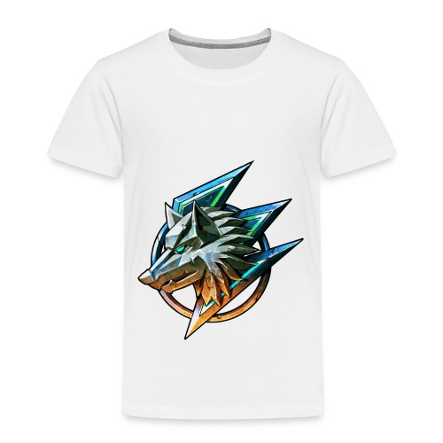 The Gaming Wolf (Official T-Shirt) - Toddler Premium T-Shirt
