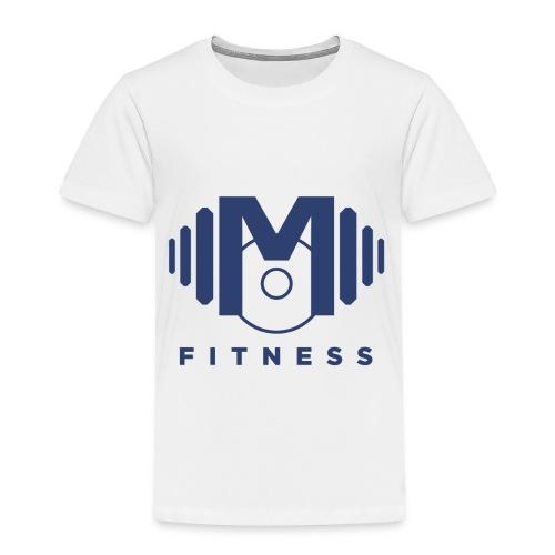 Mo Fitness - Blue - Toddler Premium T-Shirt