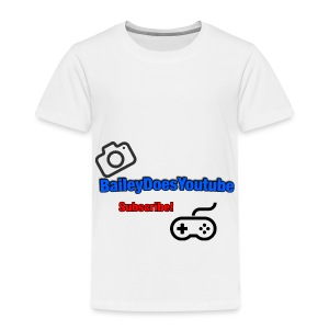 BaileyDoesYoutube - Toddler Premium T-Shirt