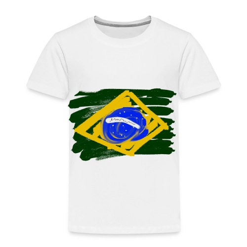 Brazilian Flag - Toddler Premium T-Shirt