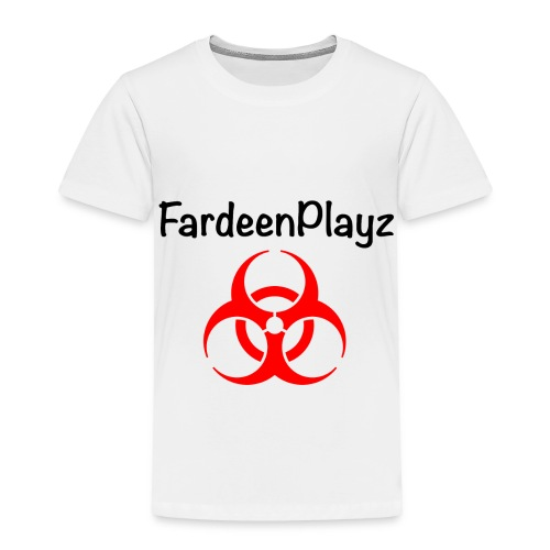FardeenPlayz At Top W/ Logo - Toddler Premium T-Shirt