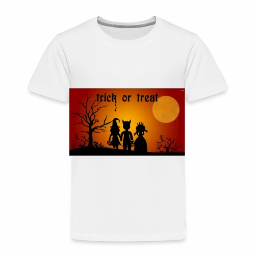 Wallpaper trick or treat Happy Halloween hd - Toddler Premium T-Shirt