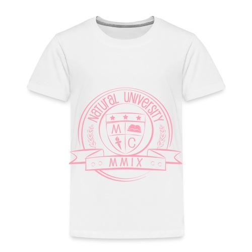 Natural University Pink - Toddler Premium T-Shirt
