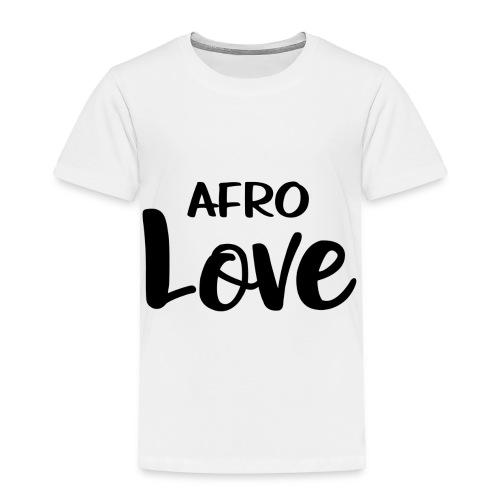 Afro Love Natural Hair TShirt - Toddler Premium T-Shirt