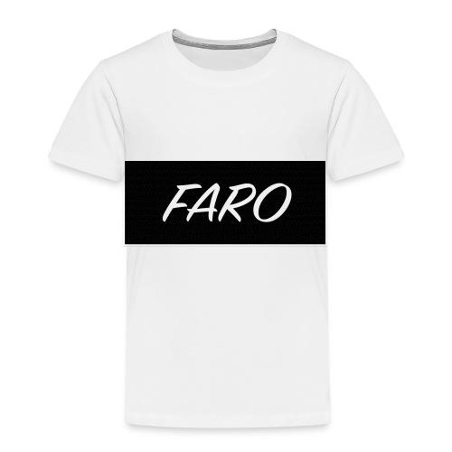 FARO_Logo - Toddler Premium T-Shirt