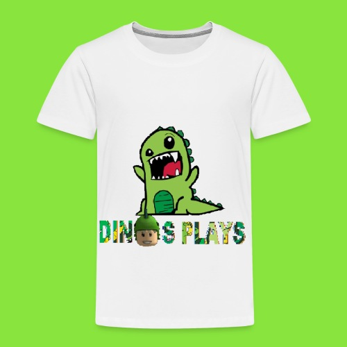 dinos plays - Toddler Premium T-Shirt