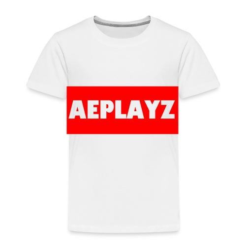 AEplayZ shirt logo - Toddler Premium T-Shirt