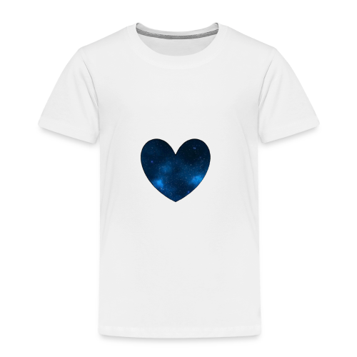 Galaxy Heart - Toddler Premium T-Shirt