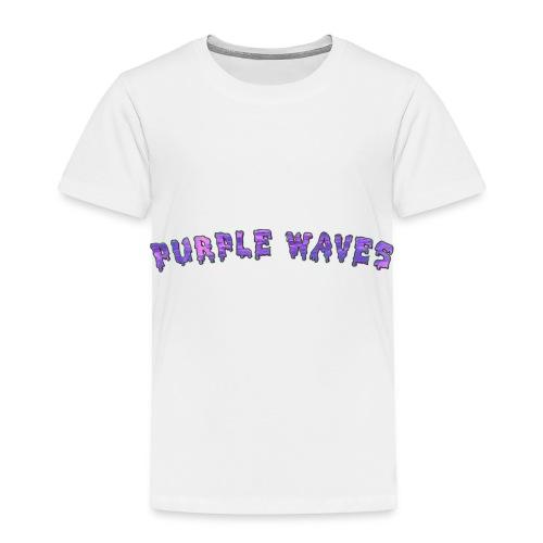 Purple Waves - Toddler Premium T-Shirt