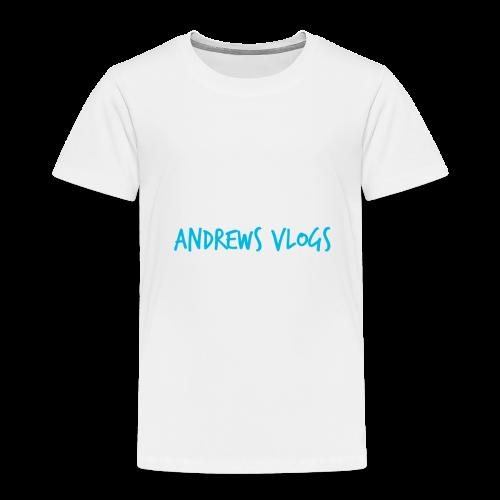 Andrews Vlogs Logo - Toddler Premium T-Shirt