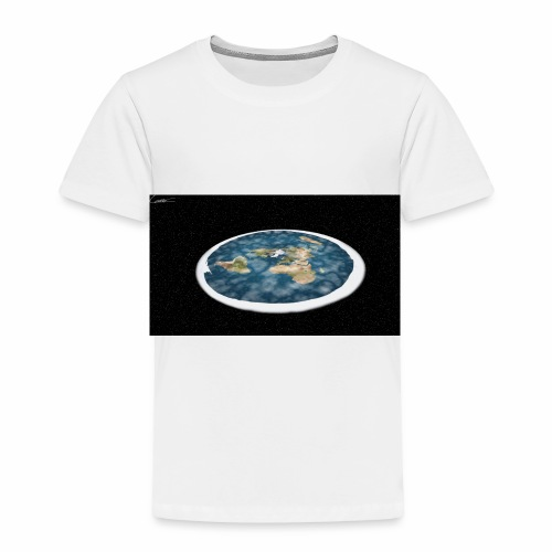 Flat Earth From Space - Toddler Premium T-Shirt