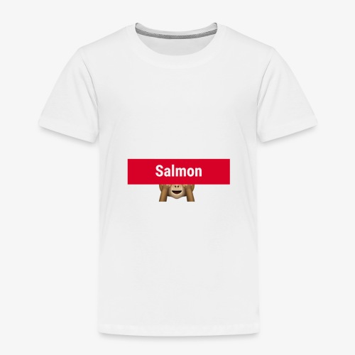 Salmon Monkey - Toddler Premium T-Shirt