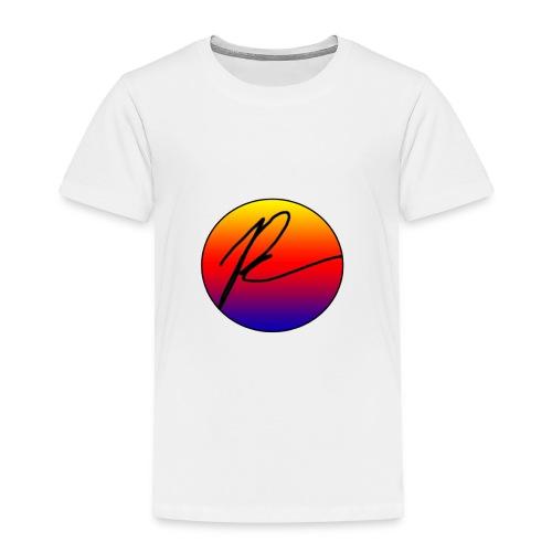 Multi-Color Signature Circle - Toddler Premium T-Shirt