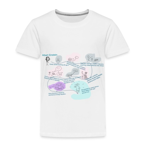 Awesome Einstein - Toddler Premium T-Shirt